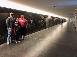 Underground Tunnel Tour of Downtown Houston