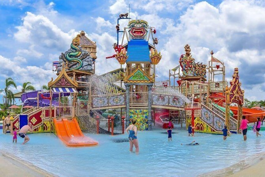 Show item 1 of 11. Ramayana Water Park at Pattaya Admission Ticket