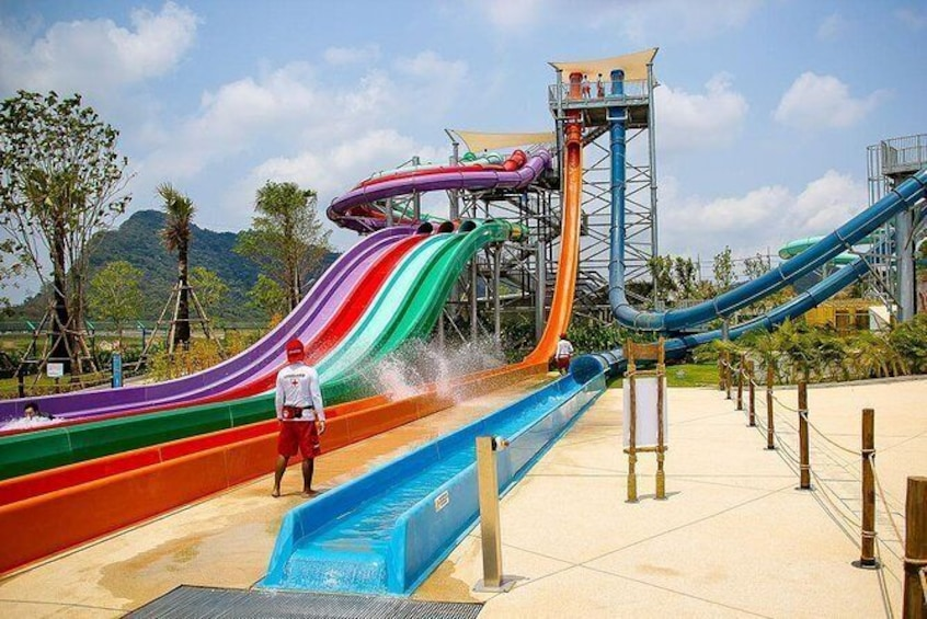 Show item 2 of 11. Ramayana Water Park at Pattaya Admission Ticket