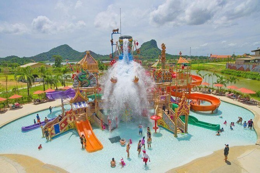 Show item 4 of 11. Ramayana Water Park at Pattaya Admission Ticket