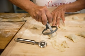 Pasta-making class at a local's home with tasting in Lucca