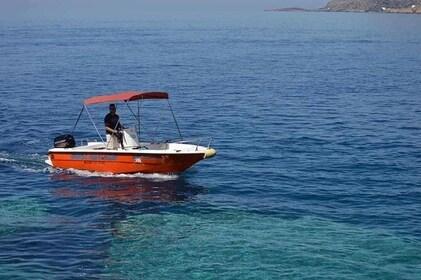 Motorboat Mare 5,5m - 30hp LICENSE FREE boat/Chora Sfakion, Sfakia