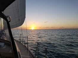 Sunset Sail Three Hour Private Boat Tour For Up To Six