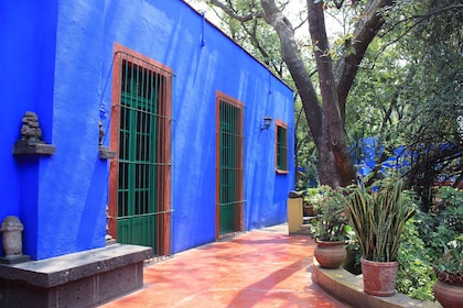 Frida Kahlo Museum, also known as the ?Blue House?