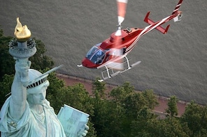 NYC Statue of Liberty and Ellis Island Helicopter Tour