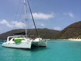 Luxury 47' Catamaran - Private Virgin Islands Snorkel & Sail