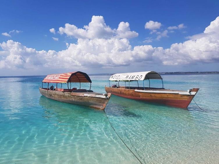 Show item 5 of 10. Zanzibar Prison Island Tour and Nakupenda Sandbank Trip