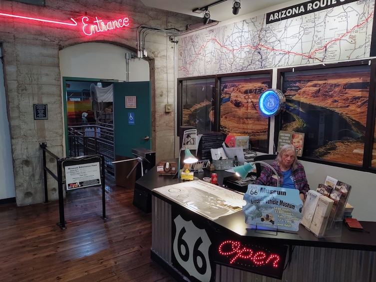 Show item 10 of 10. Grand Canyon Caverns/Route 66/Vehicle Museums & Winery Tour