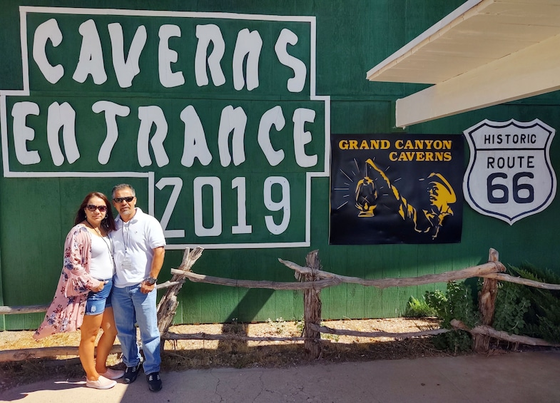 Show item 1 of 10. Grand Canyon Caverns/Route 66 Museum/Winery Tour