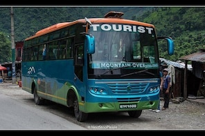 Pokhara to Kathmandu By Tourist Bus