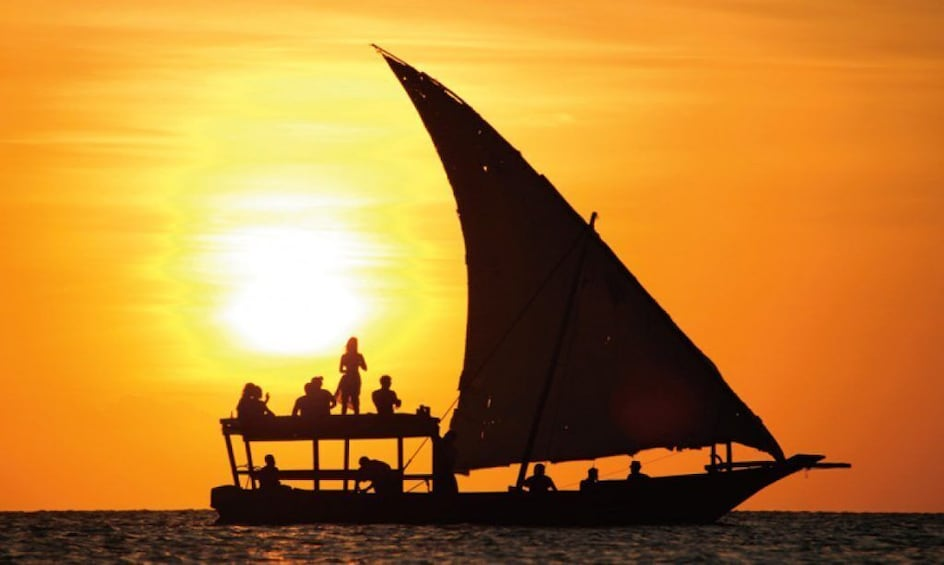 Show item 3 of 4. Sunset Dhow Cruise Stonetown Zanzibar (Sharing Tour)