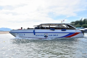 Ao Nang to Koh Phi Phi by Koh Yao Sun Smile Tour Speed Boat
