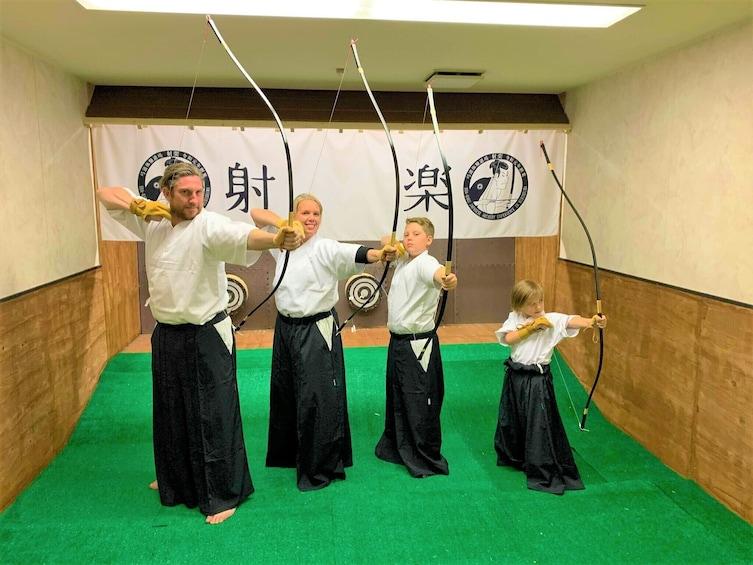 Kyudo, Japanese Archery Experience in Hiroshima