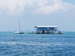 Stiltsville Three Hour Private Sail Boat Tour For Up To Six