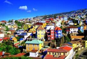 Private Valparaiso and Vina Del Mar Tour from Santiago