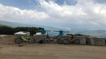 Half Day E-Bike in Sila with guide lunch with local farmer