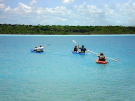 Guided Bacalar Seven Color Lagoon Adventure
