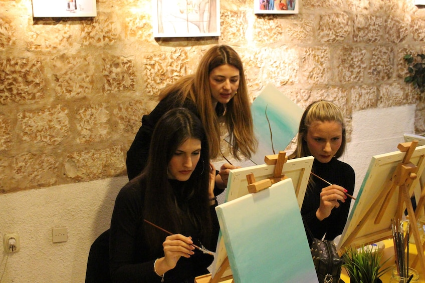 Painting Party - Wine and Paint Studio in Split