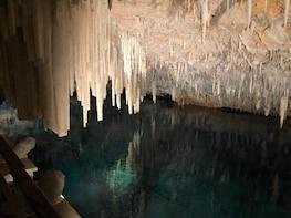 Bermuda Aquarium and crystal caves Experience