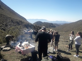Trekking & Barbecue in the Andes from Mendoza