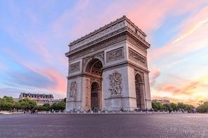 Skip the Line: Arc de Triomphe Including Terrace Access Ticket