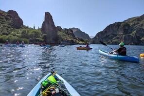 Canyon & Cliffside Kayaking on Saguaro Lake