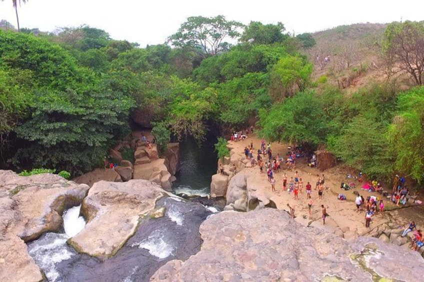 Show item 1 of 6. Malacatiupan waterfall.
