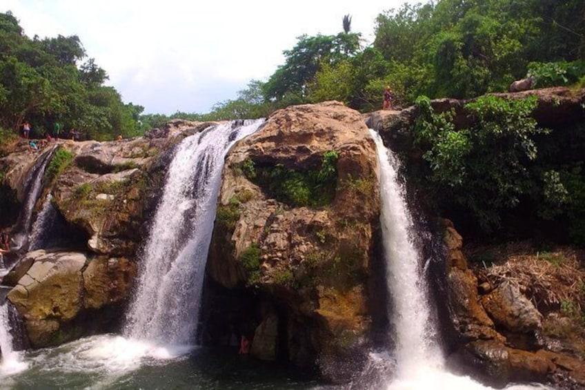 Show item 5 of 6. Malacatiupan waterfall.