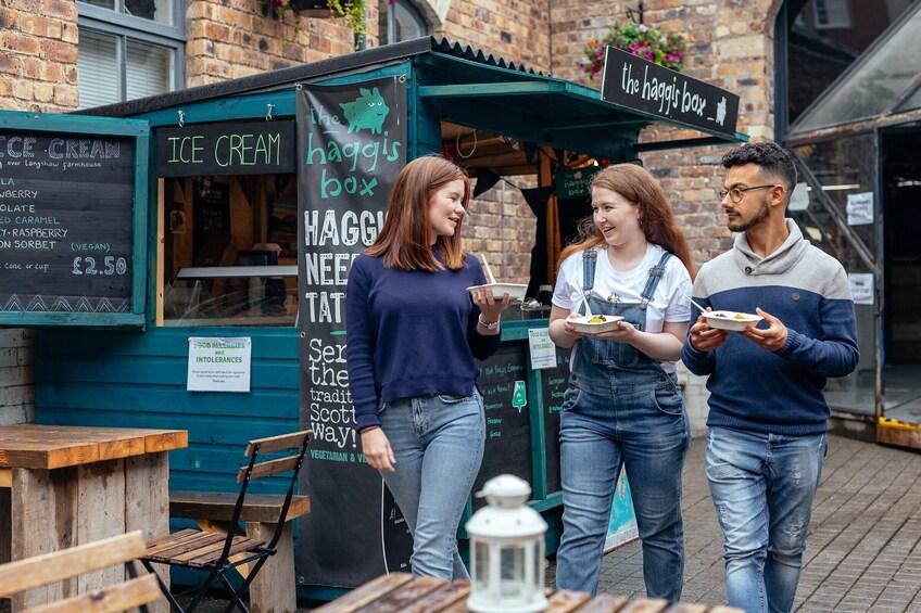 Show item 5 of 10. Private Edinburgh Favorite Food Tour: 10 Tastings