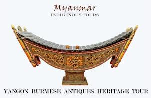 Burmese Antiques Heritage Shopping Tour