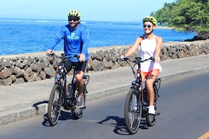 Guided Electric Bike - Lahaina Historical Tour!
