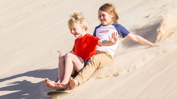 Sydney Port Stephens Sandboarding Experience