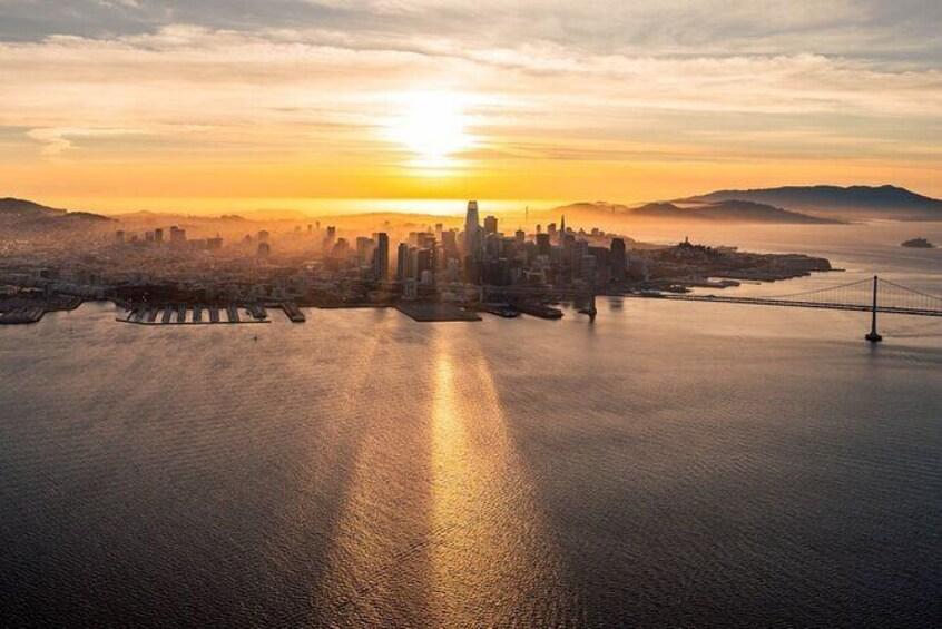 Show item 1 of 5. San Francisco Sunset Flight Tour