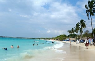 White Beach (baru) Tour from Cartagena