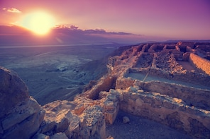 Masada Sunrise, Ein Gedi and Dead Sea Tour from Tel Aviv