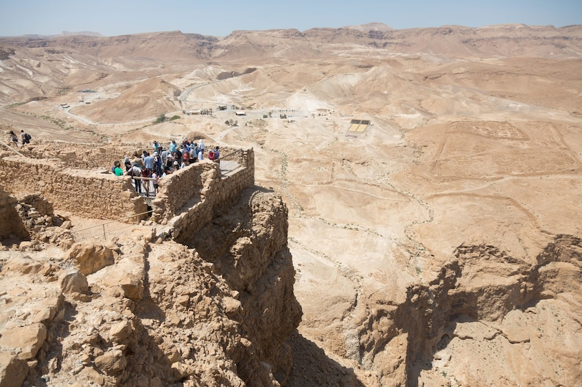 Show item 1 of 9. From Tel Aviv: Masada, Ein Gedi and Dead Sea Tour