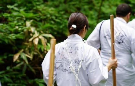 Trek with Yamabushi on Mt.Haguro