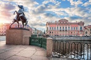 St Petersburg city tour by car