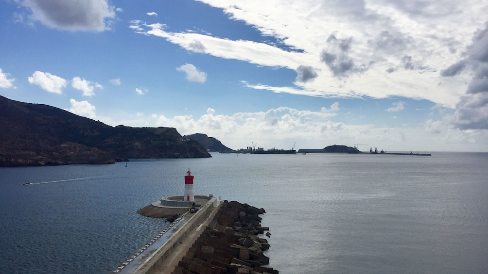 Show item 3 of 5. Fortifications of Cartagena Bay Sightseeing Cruise
