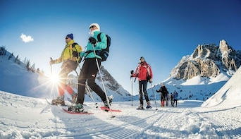 Snowshoeing In The Wonderful Dolomites - Private Experience