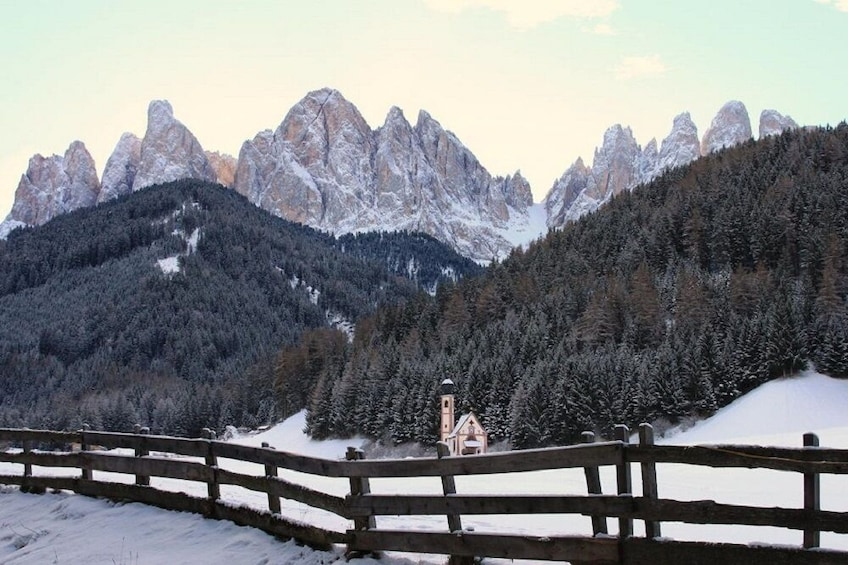 Show item 2 of 6. Snowshoeing In The Wonderful Dolomites - Private Experience