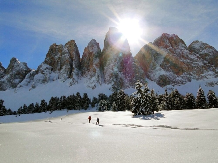Show item 5 of 6. Snowshoeing In The Wonderful Dolomites - Private Experience