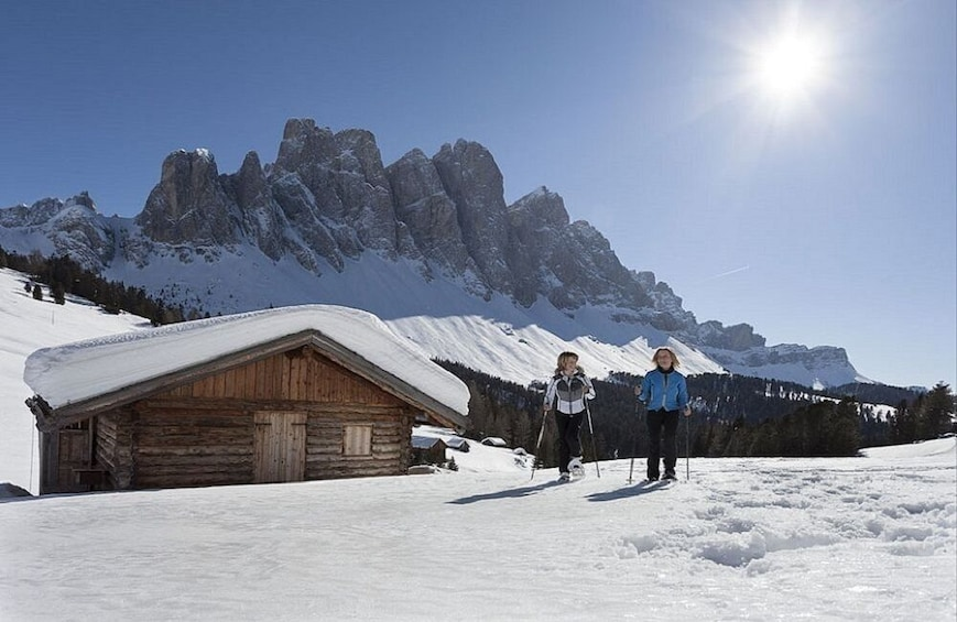 Show item 3 of 6. Snowshoeing In The Wonderful Dolomites - Private Experience