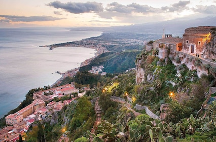 Private Etna & Taormina Tour, from Palermo area & Cefalù