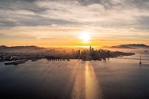 Bay Area Sunset Flight