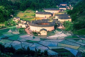 Private Transfer to Tianluokeng Tulou and Hekeng Hakka Tulou from Xiamen Ci...