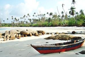 Bintan Private Tour Sea Gypsy & White Sands Island
