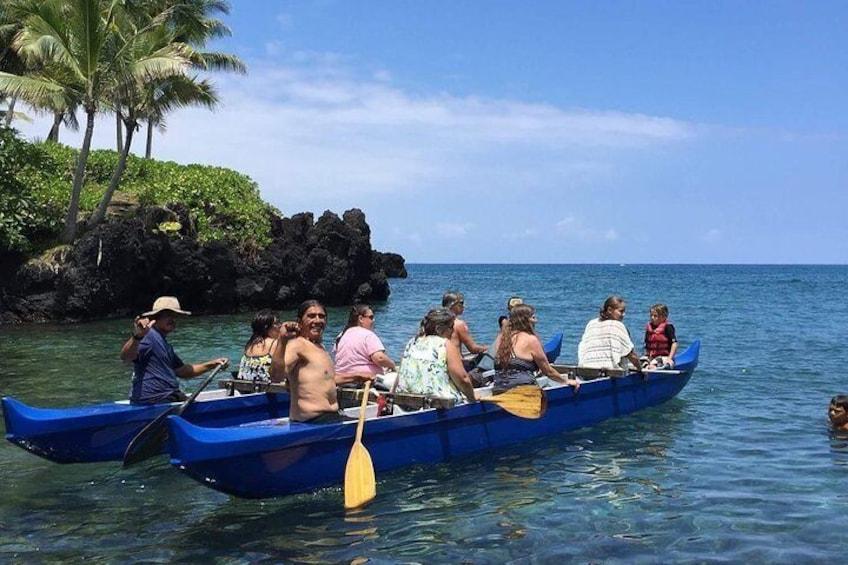 Kealakekua Outrigger Canoe Tour