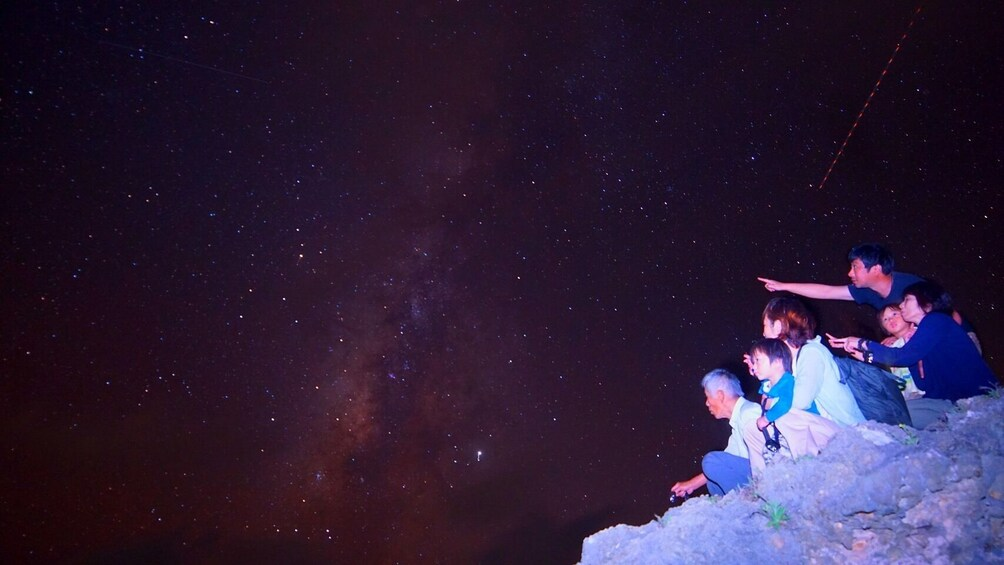 Miyakojima starry sky photo  tour and jungle night tour