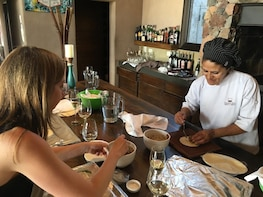 Cooking class experience at a Mendoza winery